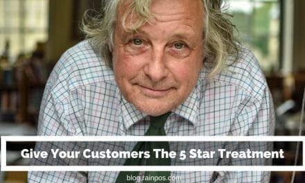 Give Your Customers The 5 Star Treatment