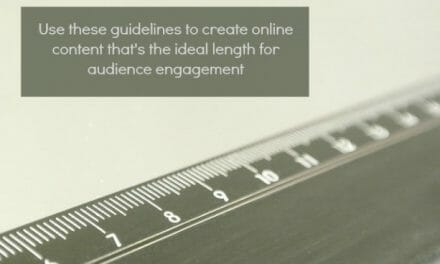 The Best Length for Social Media Messages & Other Online Content
