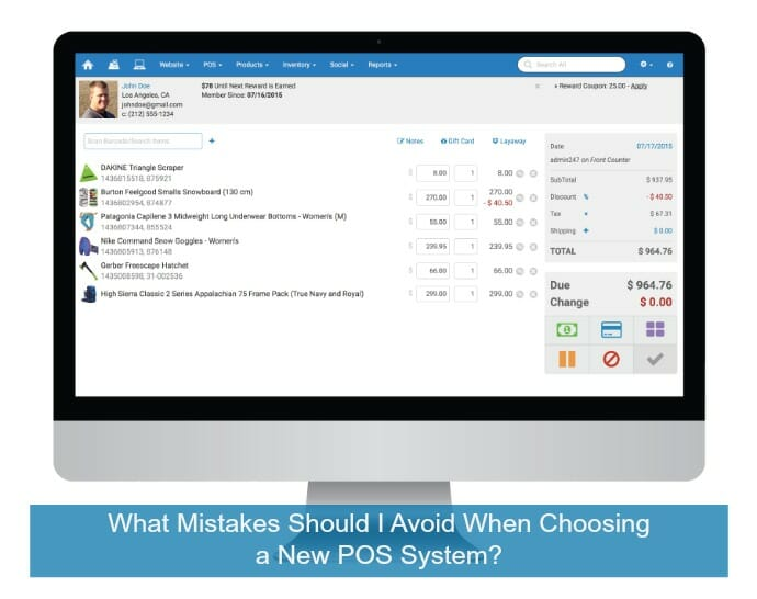 3 Mistakes to Avoid When Choosing a POS System