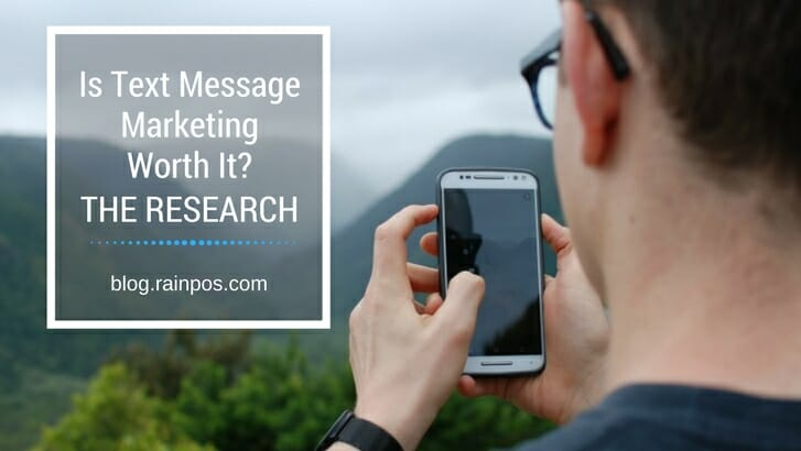 Is Text Message Marketing Worth It? The Research