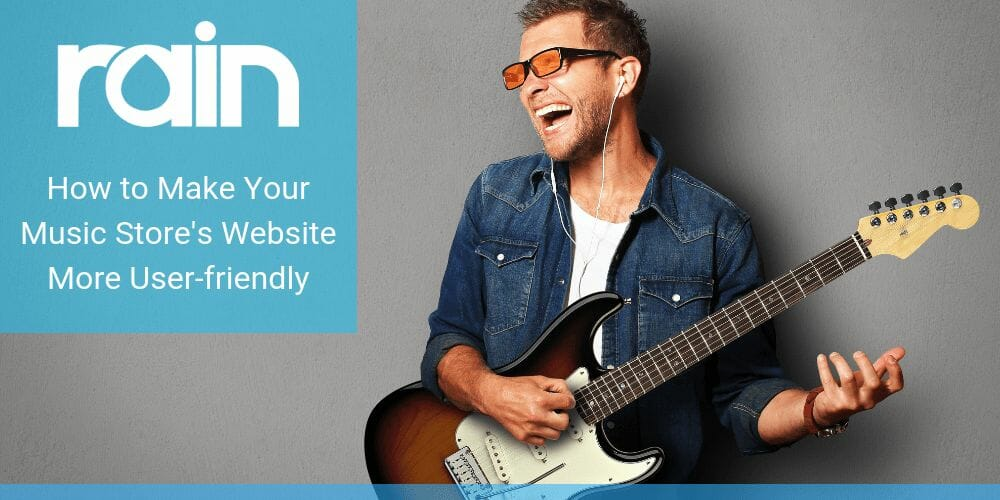 How to Make Your Music Store's Website More User-friendly
