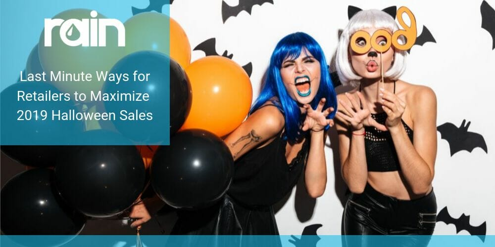 Last Minute Ways for Retailers to Maximize 2019 Halloween Sales